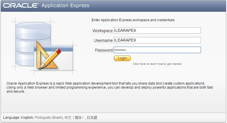 Install Oracle APEX – Download on Oracle Technology Network