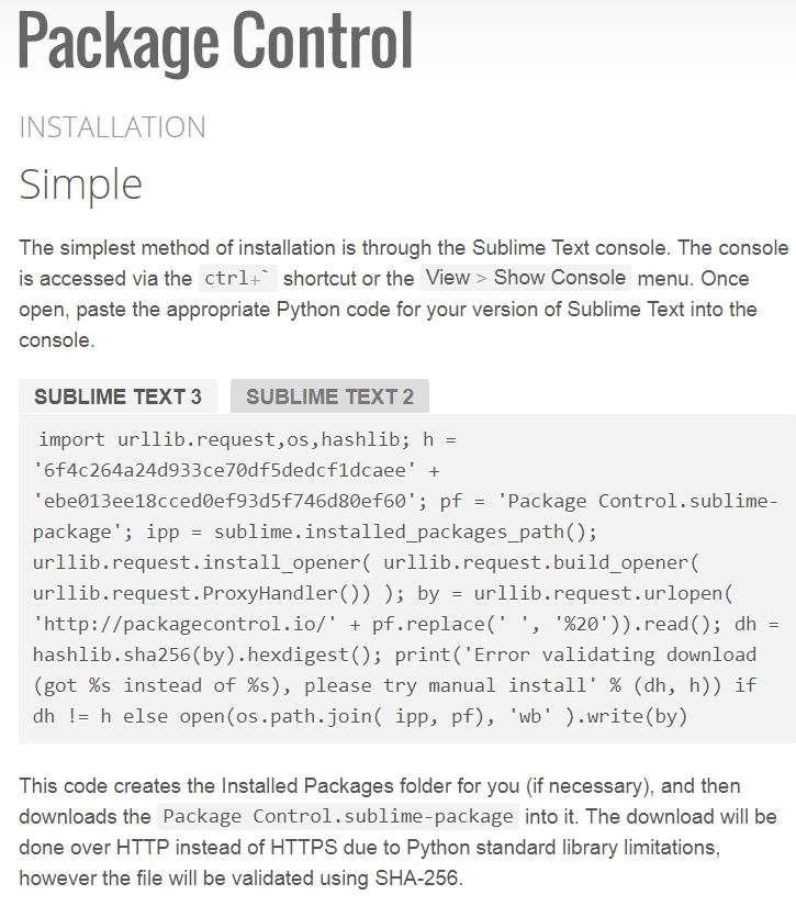package control install code