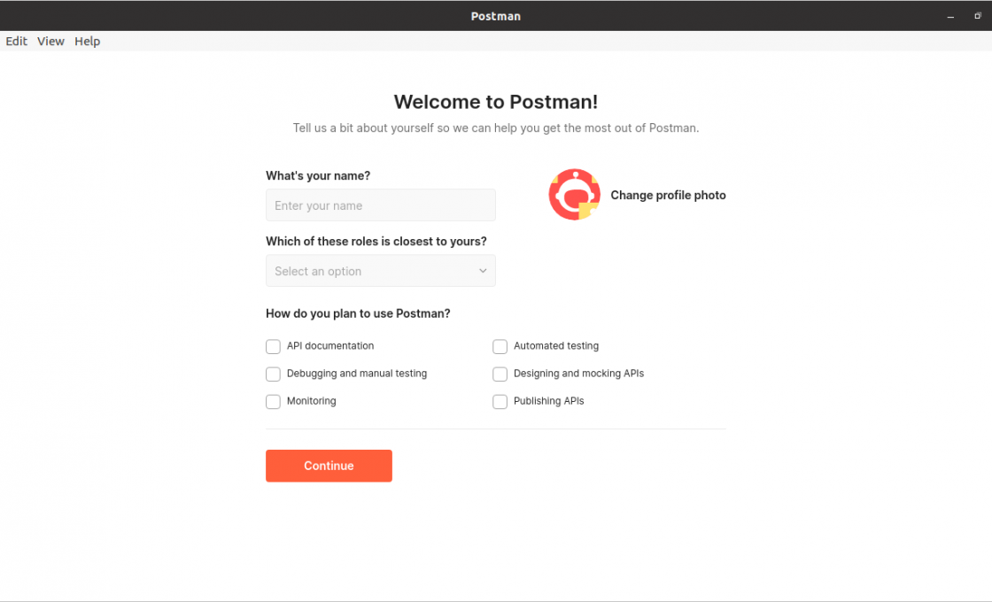 Configuring Postman before using it
