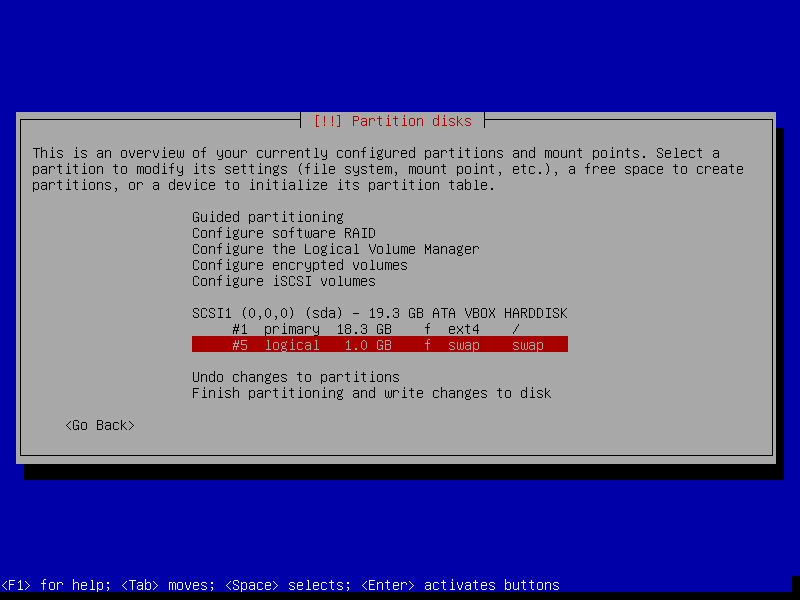 Disk prepared and ready for Debian 11